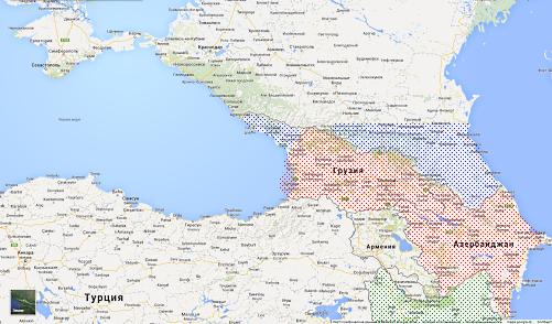 Крым и Северный Кавказ